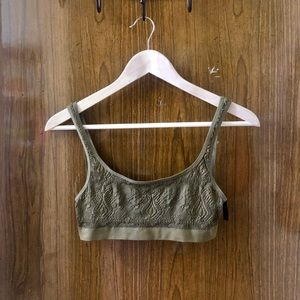 💚 Urban Outfitters Olive Green Bralette 💚